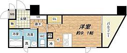 プレサンス心斎橋リベルタ[12階]の間取り