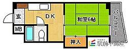 OCTO玉川[505号室]の間取り