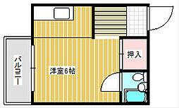 信和ビル[4階]の間取り