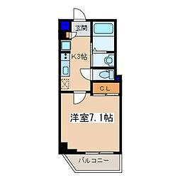 戸塚区品野町 メゾン青空東戸塚802[802号室]の間取り