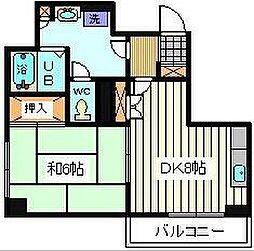 埼玉県さいたま市桜区田島9丁目の賃貸マンションの間取り