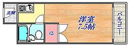 メゾン・ド・六甲パートⅡ[4階]の間取り