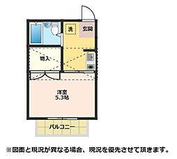 メゾンTB1[2階]の間取り