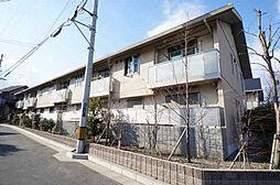 兵庫県宝塚市山本南3丁目の賃貸アパートの外観