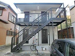 愛知県稲沢市北市場町西玄野の賃貸アパートの外観