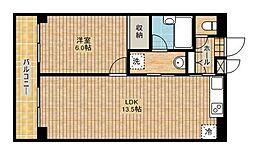 パレスアルカディア[2階]の間取り