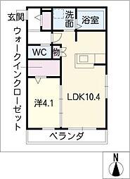 ソフィア・テラス[2階]の間取り