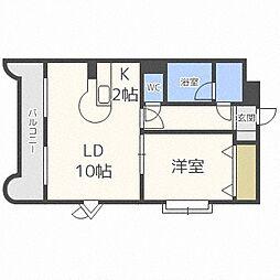 S−Court円山[2階]の間取り