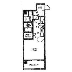 サン・エターナル亀城[3階]の間取り