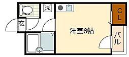 萩ノ茶屋駅 4.7万円