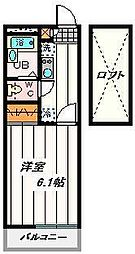 埼玉県さいたま市桜区栄和1丁目の賃貸マンションの間取り