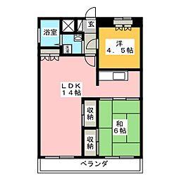 築地第2ビル[7階]の間取り