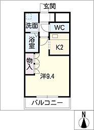 コ−ポ25[2階]の間取り