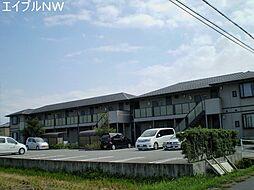 三重県松阪市櫛田町の賃貸アパートの外観