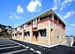 徳島県徳島市名東町2丁目の賃貸アパートの外観