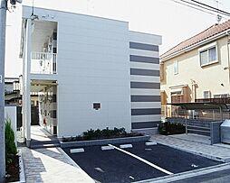 千葉県市川市東菅野2丁目の賃貸アパートの外観
