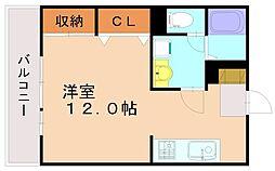 マルトモ[2階]の間取り