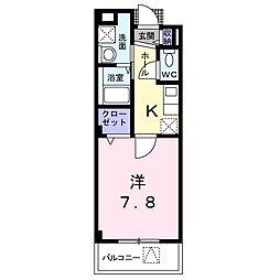 Feliz Urata (フェリス ウラタ)[1階]の間取り