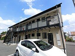 千葉県成田市囲護台の賃貸アパートの外観