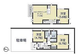 [一戸建] 埼玉県さいたま市南区内谷5丁目 の賃貸【/】の間取り