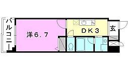 第11ドリームマンション[503 号室号室]の間取り
