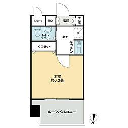 ライオンズマンション大島第2[6階]の間取り