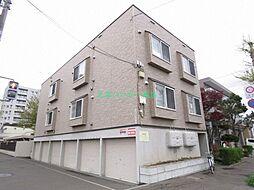 北海道札幌市東区北三十二条東13丁目の賃貸アパートの外観