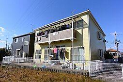 京都府八幡市八幡安居塚の賃貸アパートの外観