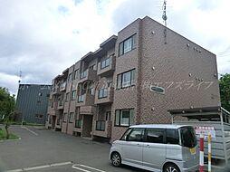 北海道札幌市北区百合が原7丁目の賃貸マンションの外観