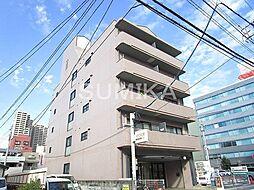 岡山県岡山市北区磨屋町の賃貸マンションの外観