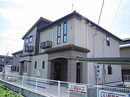 群馬県高崎市東貝沢町2丁目の賃貸アパートの外観