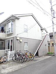 東京都北区滝野川2の賃貸アパートの外観