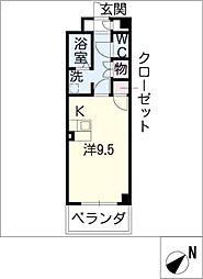 コンフォートメイワ[3階]の間取り