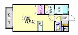 ロングハウス明香[1階]の間取り