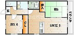 ライフハウス片野ビル[7階]の間取り
