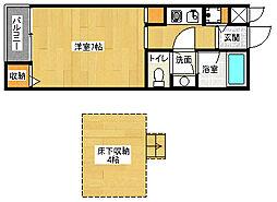 伊勢田駅 4.6万円