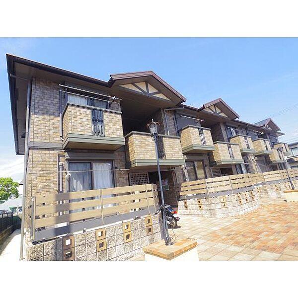 奈良県奈良市八条町5丁目の賃貸アパートの外観