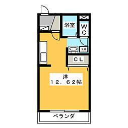 美・ナテュール[2階]の間取り