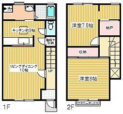 [テラスハウス] 東京都青梅市今井1丁目 の賃貸【/】の間取り