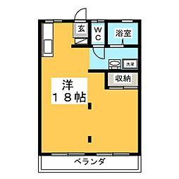 メゾンド昭和[2階]の間取り