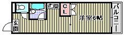 クライマーコーポ ヒロ[209号室]の間取り
