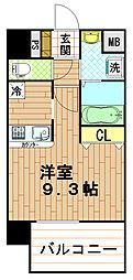 プライムレジデンス神戸・県庁前の間取り