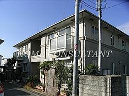大阪府松原市上田8丁目の賃貸アパートの外観