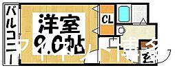福岡県福岡市博多区対馬小路の賃貸マンションの間取り