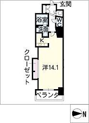 エルブ葵[12階]の間取り