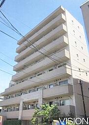 東京都板橋区蓮沼町の賃貸マンションの外観