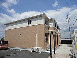 愛知県あま市富塚七反地の賃貸アパートの外観