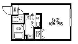 レジディア西新宿[3階]の間取り