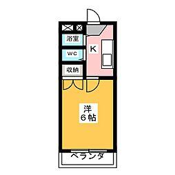 ピアモトマチ[3階]の間取り