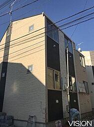 東京都板橋区新河岸3丁目の賃貸アパートの外観